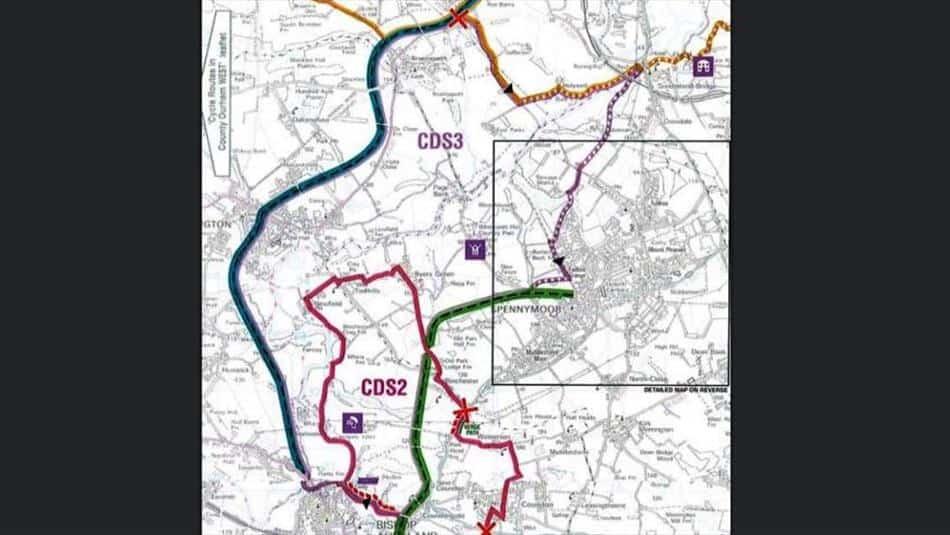 Bishop Auckland/Brandon Loop Cycle Route