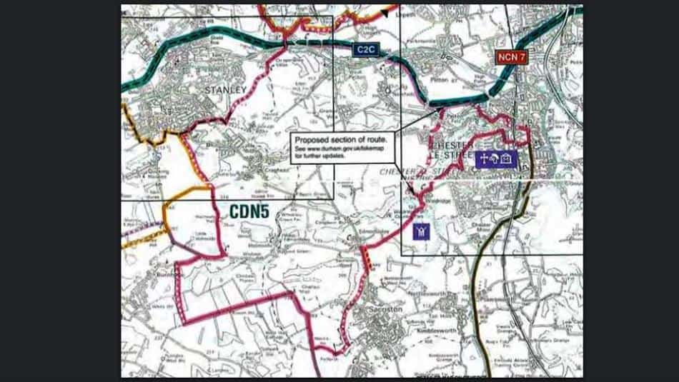 Link up the Loops - Consett to Chester-le-Street Cycle Route